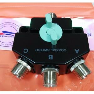 Harvest CO-301 Three-Way Heavy Duty Coaxial Antenna Switch