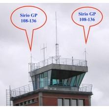 Sirio GP 108-136 LB/N VHF Aircraft Band 108-136mhz Base Antenna (N Connector)