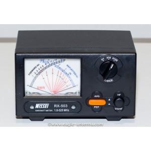 Nissei RX 503 1.8~525MHz 0~200W UHF/VHF/HF SWR & Watt Meter