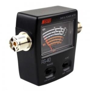 Nissei RS-40 V/UHF 200W SWR & Power Meter (140-150 & 430-450mhz)