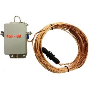 Taurus 40M-6M Multi-Band Long Wire Dipole Antenna