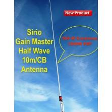 Sirio Gain-Master Fiberglass HW Half Wave 10m & CB Fiberglass Base Antenna