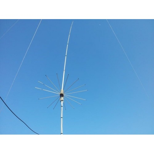 Sirio 2016 (26.4 - 28.2 Mhz) 10M/CB 3000 Watts Tunable Base Antenna