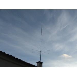 Sirio 827 (26.4 - 28.4 Mhz) 10M-HAM 3000W Tunable Base Antenna