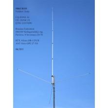 Sirio GPE 27 5/8 10M/CB 750W 26.4-29 Mhz Tunable Base Antenna