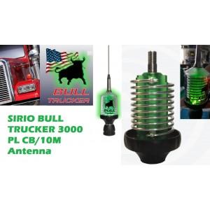 Sirio Bull Trucker 3000 PL LED 3000 Watts CB & 10M Mobile Antenna
